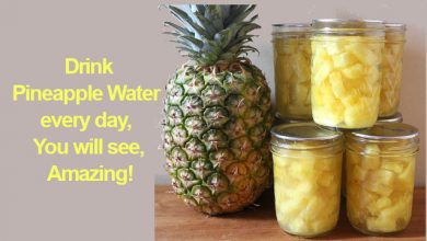 Photo of Drink Pineapple Infused Water Every day, You will see, Amazing!