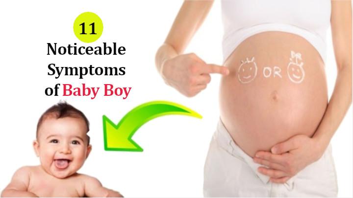 Symptoms Of Baby Boy
