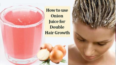 How to use Onion Juice for Double Hair Growth
