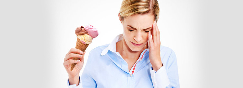 ice cream headache