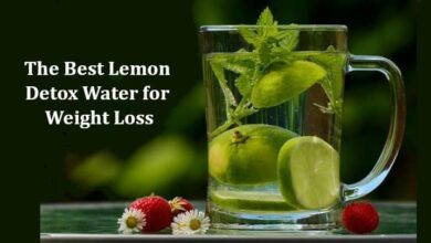 Detox Water for Weight Loss Recipe