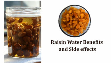 Raisin Water Benefits and Side effects
