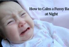 Photo of How to Calm a Fussy Baby at Night By Massaging These 7 Points