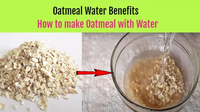 How to make Oatmeal with Water