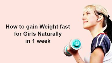 How to gain Weight fast for Girls Naturally