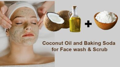 Coconut Oil and Baking Soda for Face