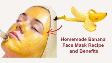 Homemade Banana Face Mask Recipe