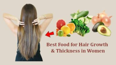 Food for Hair Growth and Thickness in Women