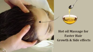 Hot oil Massage for Hair Benefits and Side effects