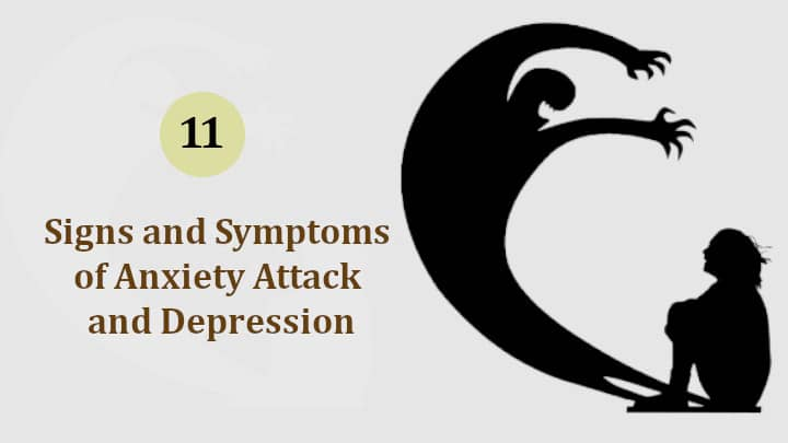 Signs and Symptoms of an Anxiety Attack and Disorder