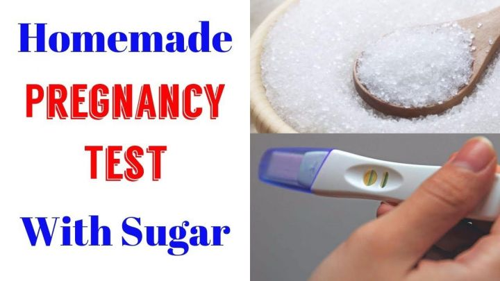Homemade Pregnancy Test With Shampoo Salt Sugar. How to ...